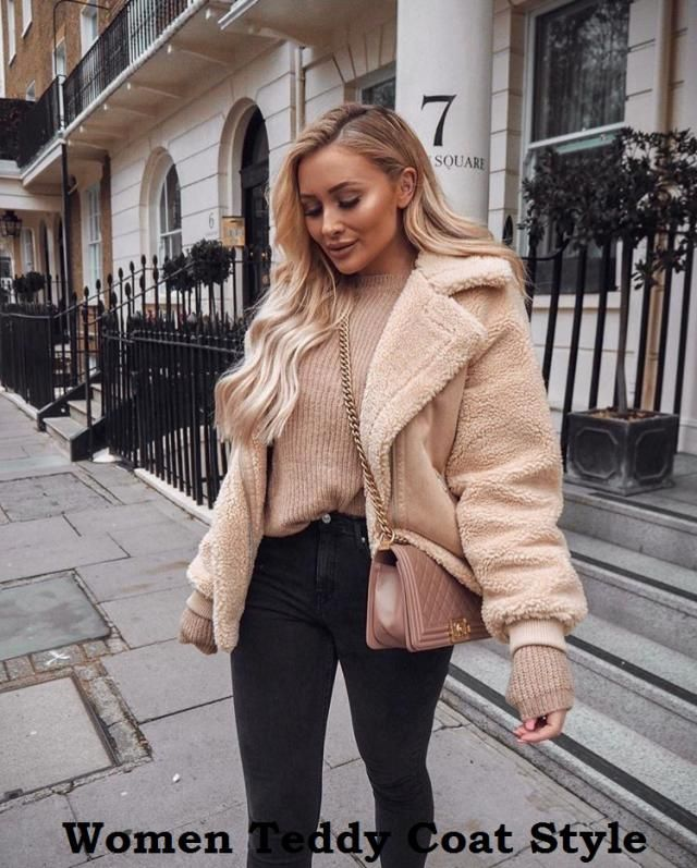 Women Teddy Coat Style Teddy coats are one of the few coat trends that everyone can truly agree on. Another coat that …