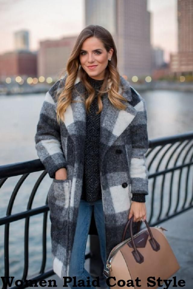 Women Plaid Coat Style Different Stylish Styles of Wearing Plaid Coats – The cold season is here so it is time to brin…