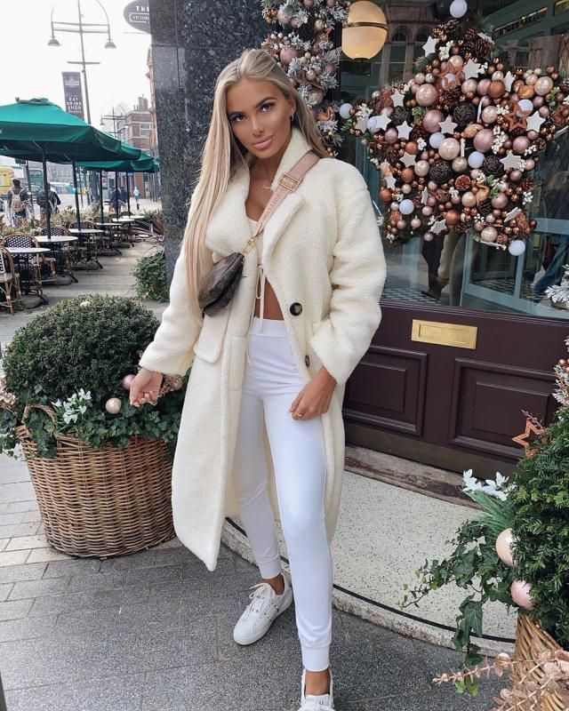 Teddy white coat! perfect for winter!!!