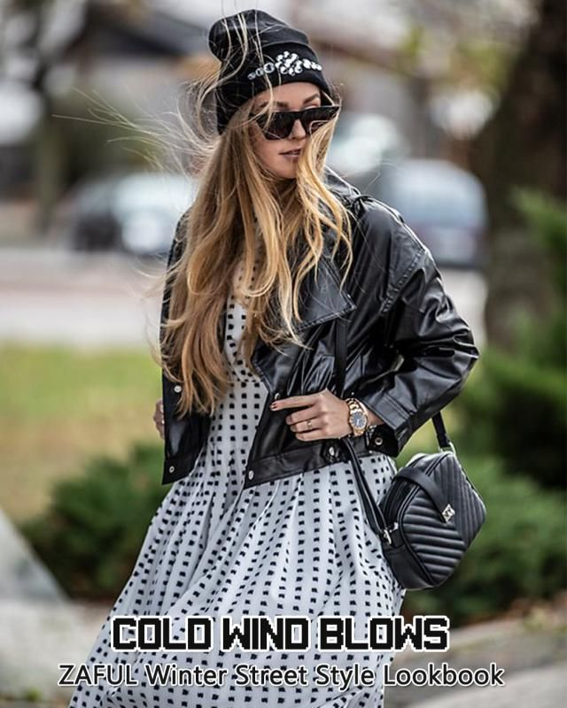 Get some inspiration on cold weather dress. We want you to be both cool and fashion this winter!