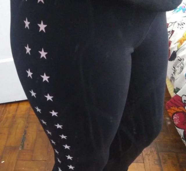 amei a calça muito boa só acho que as estrelas vão sair rápido