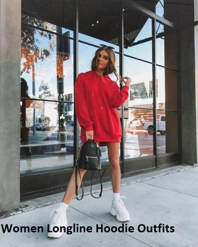 Women Longline Hoodie Outfits A perfect casual look with hoodie outfits. Great discounts! Christmas Sale! Come to Zaf…