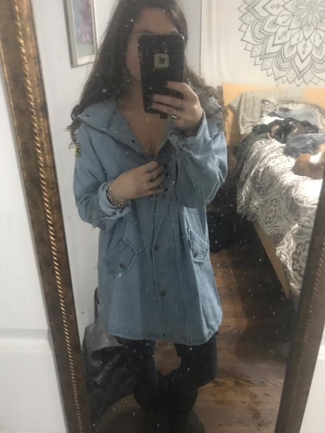 """I got a 3x so I could have the """"oversized"""" look and it's PERFECT!!!! Definitely go up a couple/few sizes :)"""