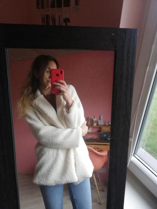 This fluffy teddy jacket is AMAZING! My hopes were really up with this one, and when I got it, it was even better than…