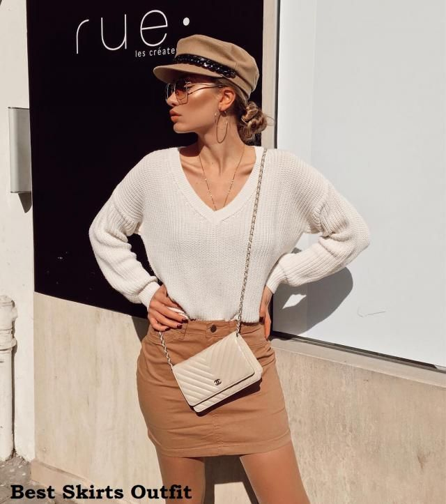 Best Skirts Outfit  Sweaters and Skirts is a beautiful combination and the Winter season is an ideal season to wear it…