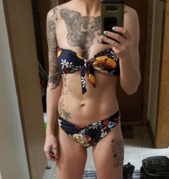 Definitely recommend I have a hard time finding one size swimsuits that fit top and bottom..I ordered 5 suits and they…