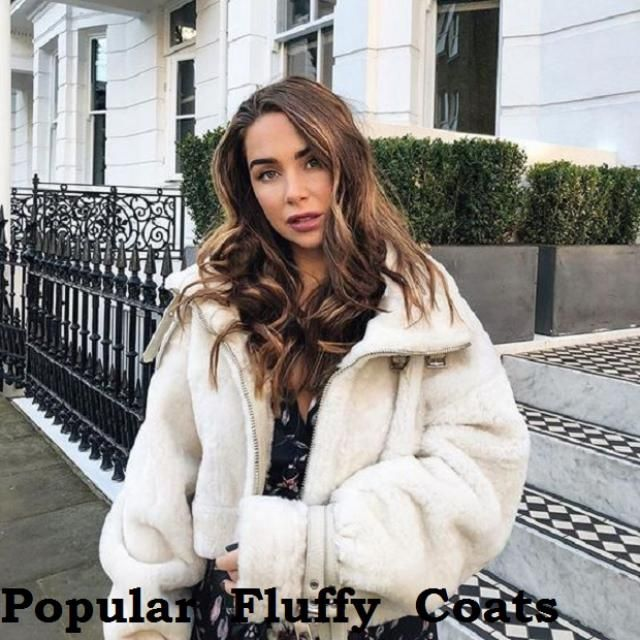 Popular Fluffy Coats Winter is coming, winter is coming and fake fur coats are always the season's favorites! And last…