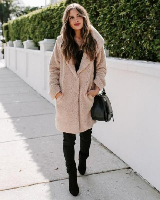 Comfortable and of fantastic longline coat set from Zaful-a.