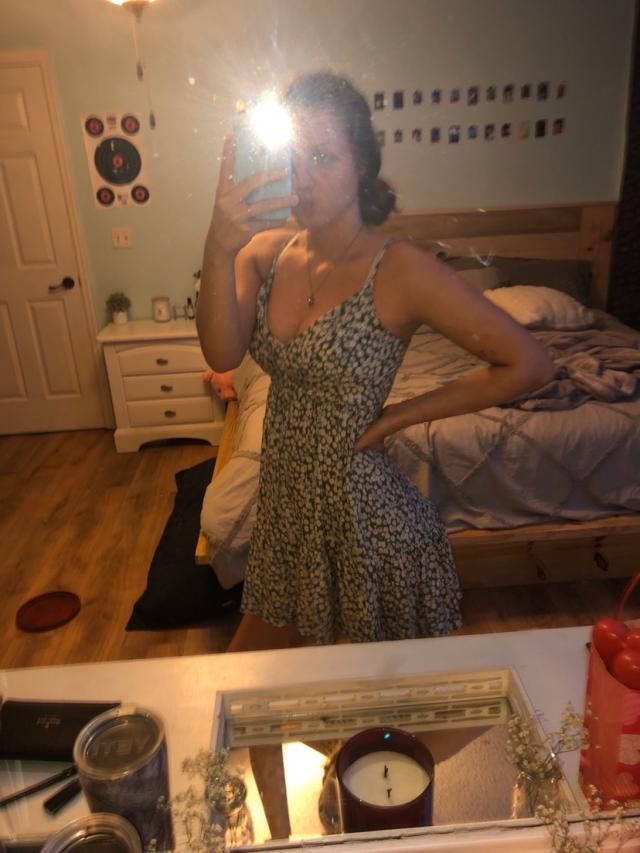 Got a medium! AMAZING DRESS! I literally wear it all the time and when i washed it and dried it the first time i was s…