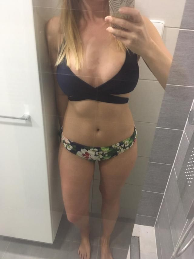 Love this bikini. Can't wait to wear!  Super cute !Looks exaclty like the pictures  Definitely recommend
