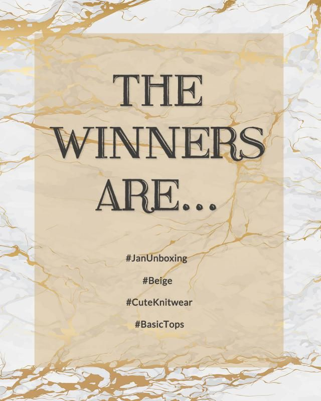 【Congrats to the winners】  How to get your gifts: 1.You will receive an award-winning email from our team email: zme…