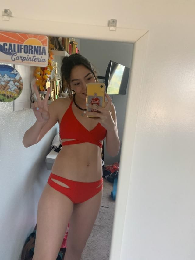 I love this bathing suit! Top and bottoms fit perfectly (I got a small) and it's super cute and good quality. Love it!…