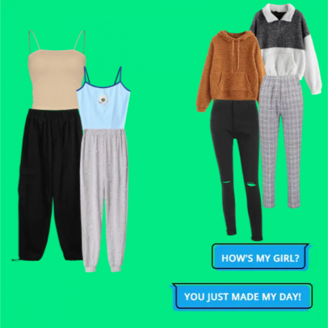 Two outfit ideas for your corona time life!