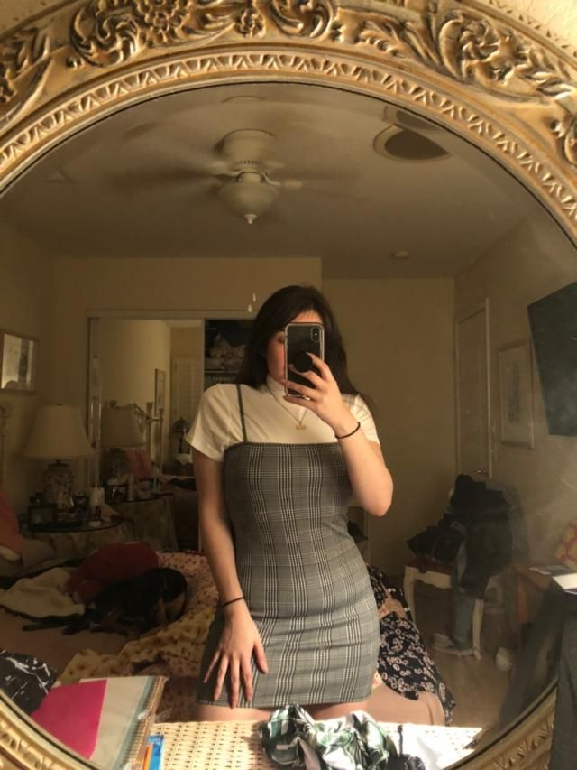 The material is nice and stretchy. It hugs your body perfectly! I poured it with a top i got from here as well. Love l…