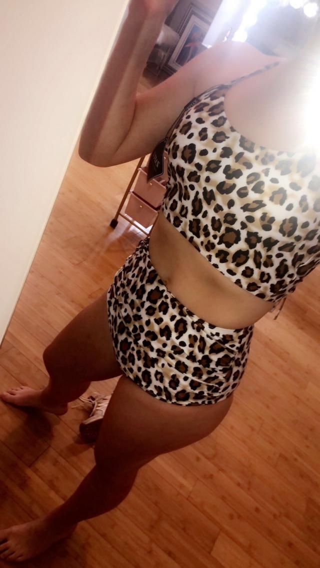 definitely loving the cheetah, RARR! so cute, compliments hips PERFECTLY;)