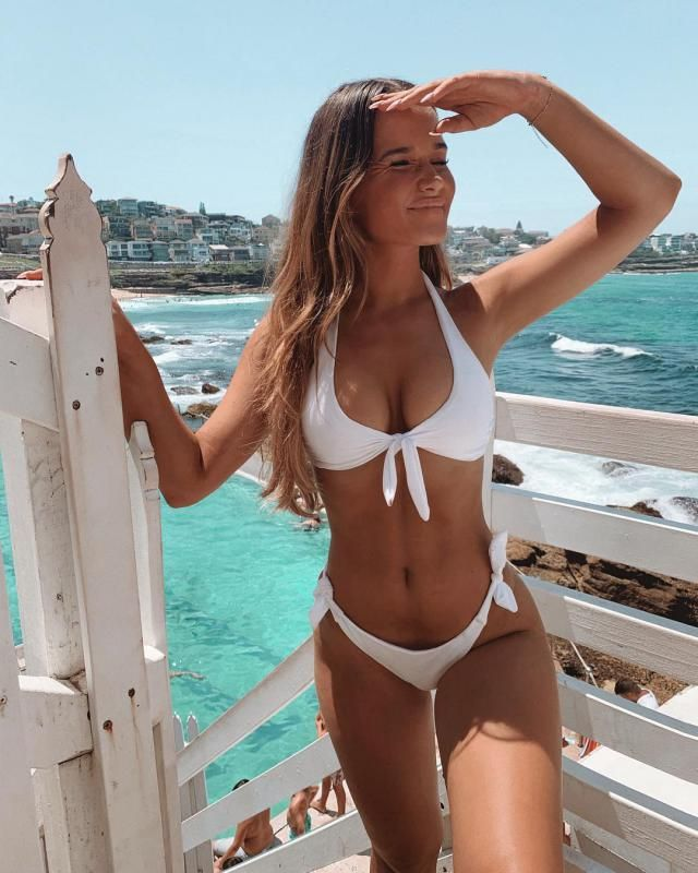 Are you ready for summer? what about this beautiful white bikini? looks amazing!♥