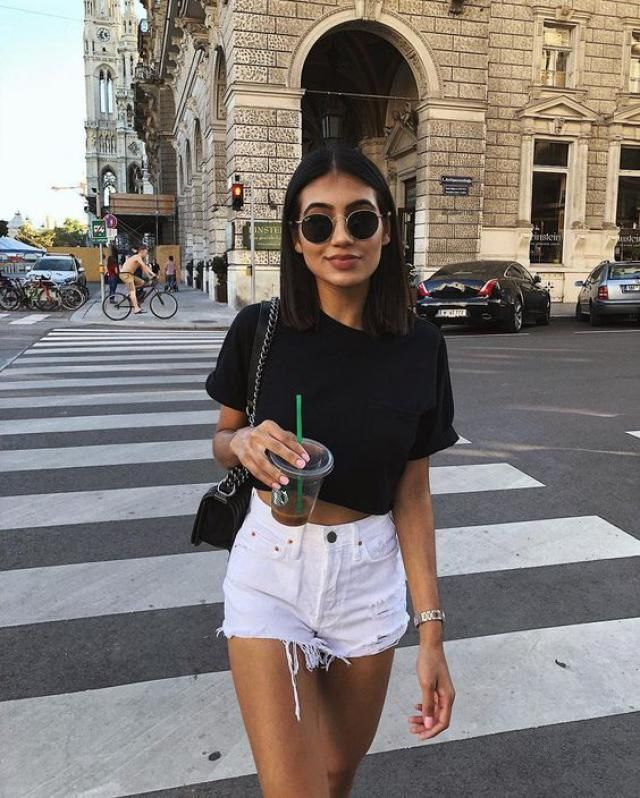 Short Sleeve T-shirt  Buy these gorgeous cropped tee and stay on-trend. A perfect girls summer fashion. Shop at Zafu…