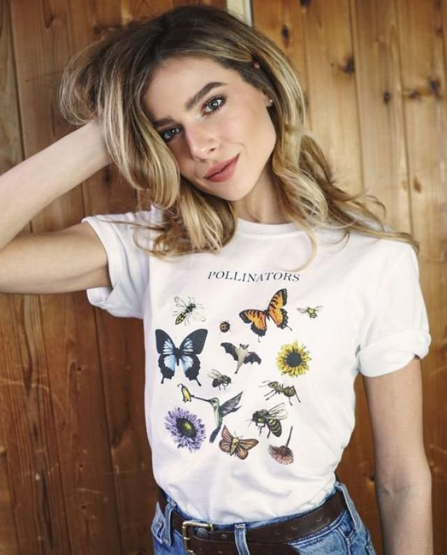 Colorful Butterflies Graphic T-shirt The perfect collection of Zaful butterfly crop tee for you!