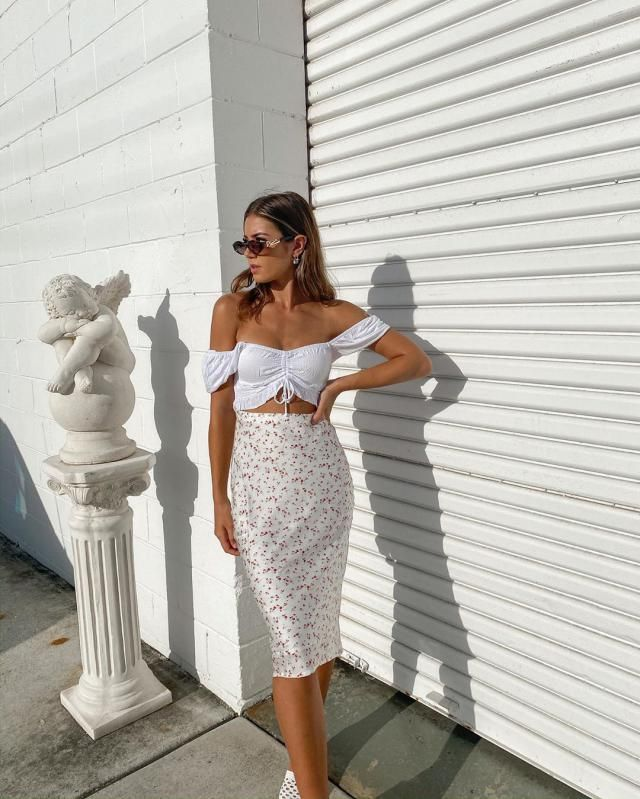 Crinkle Off Shoulder Cinched Front Blouse  The perfect collection of Zaful crop blouse. clothes for you!