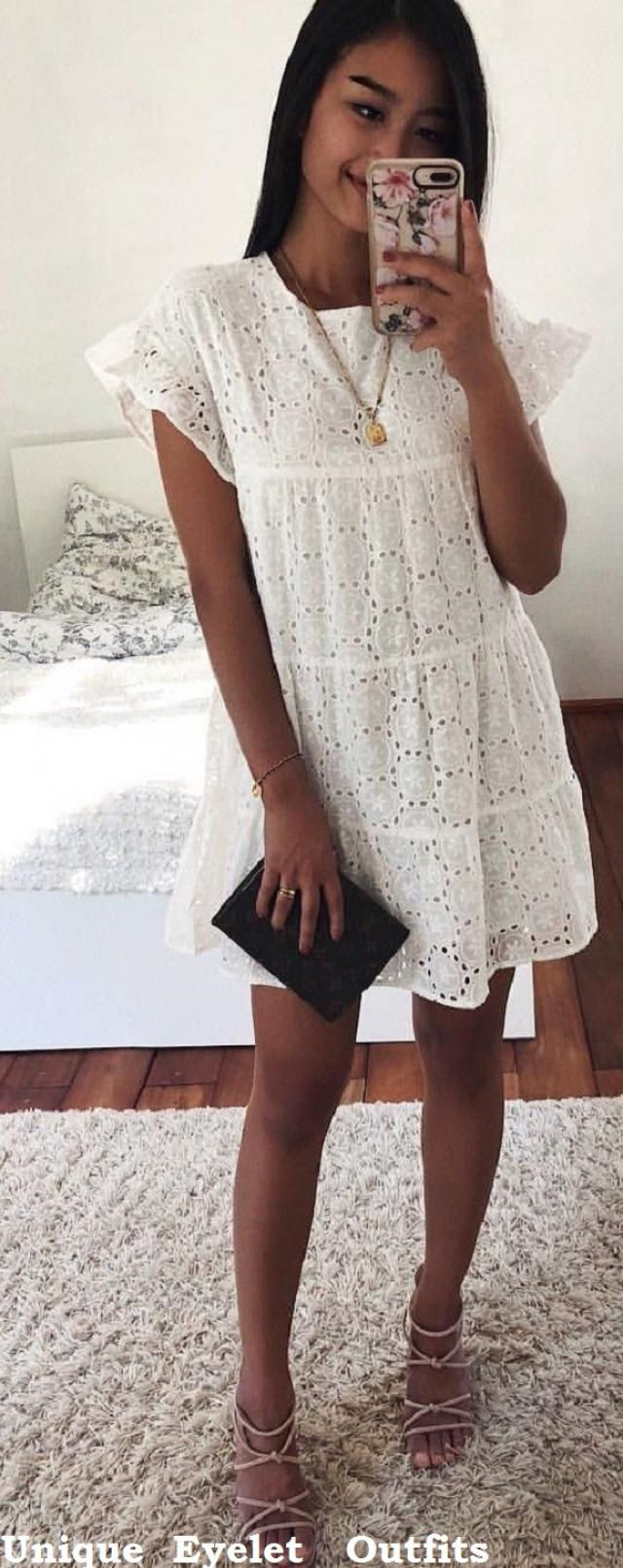 Unique Eyelet Outfits 