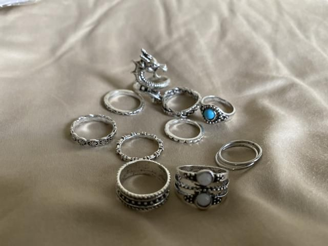 All of the rings are super cute!