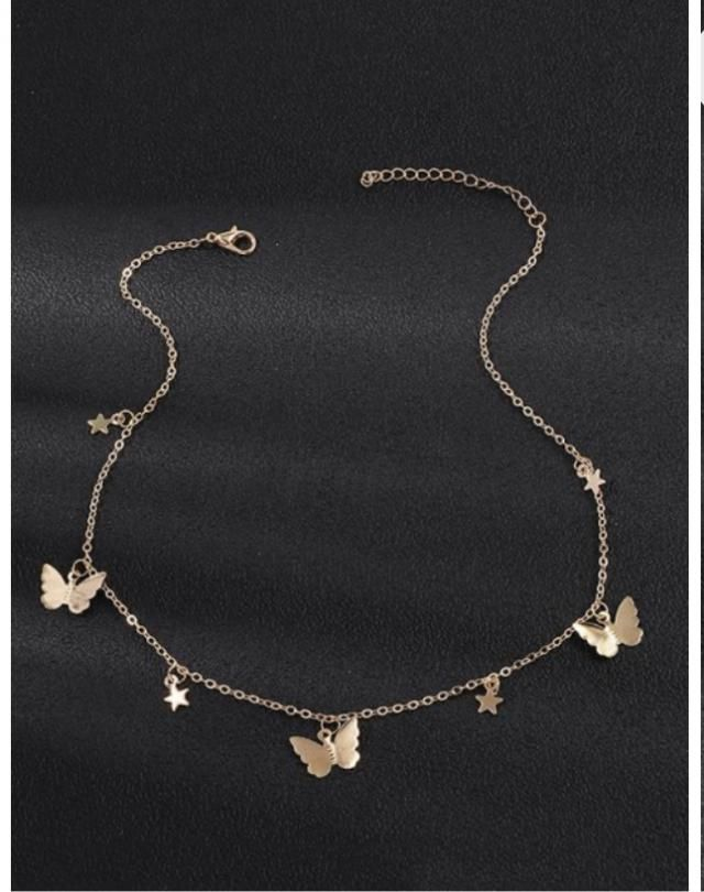 So so so cute the gold never turned green or any other color my favorite necklace ever I never take it off 10/10 Very …