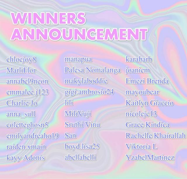 【Congrats to the winners】  Thank you for taking part into the Quiz Activities of  'Guess which IP ZAFUL teamed up with?…