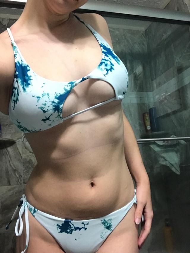 It's super sexy but be careful if you have a larger chest because the straps are small and may not offer enough suppor…