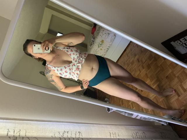Super cute !Looks exactly like the pictures, Fits well , True to size! ALSO super flattering, especially if you want t…