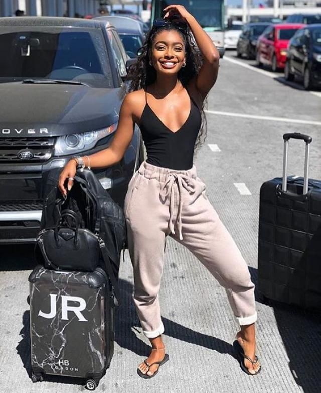 Ribbed High Cut Cami Bodysuit   Perfect chic summer look ,jogger with bodysuit.Shop at Zaful!