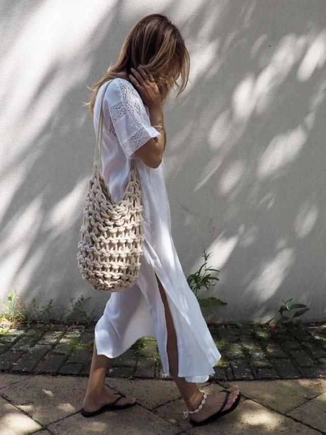 Ruffles Cover-up Dress