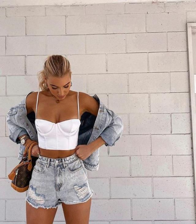 ZAFUL Ribbed Cupped Crop Cami Top