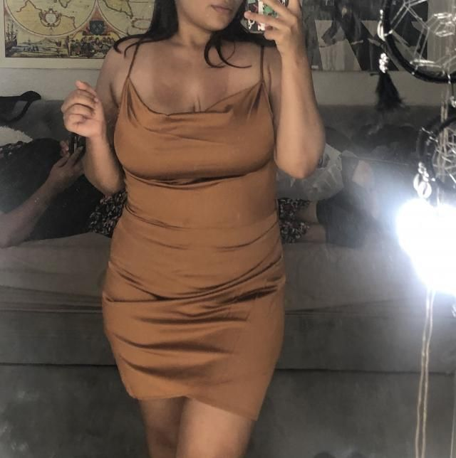 I AM SOO INLOVE WITH THIS DRESS!!! It fit me perfectly!! I was worried because of my bra size but it is good for big b…