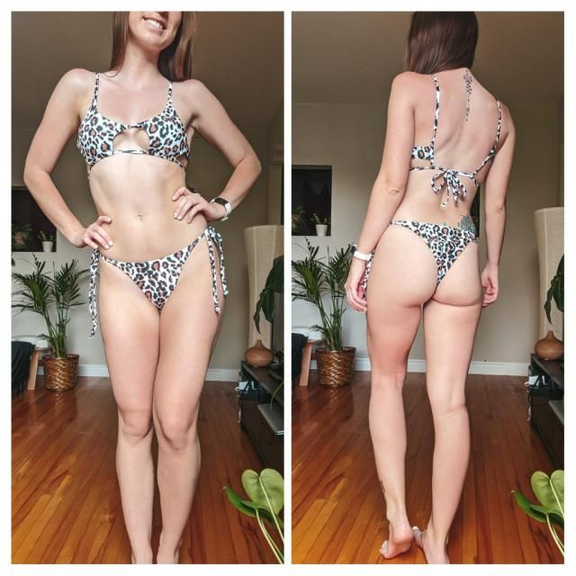 Very sexy model. Very flattering for small breasts ! The sides of the top will move awkwardly if you do sports. This i…