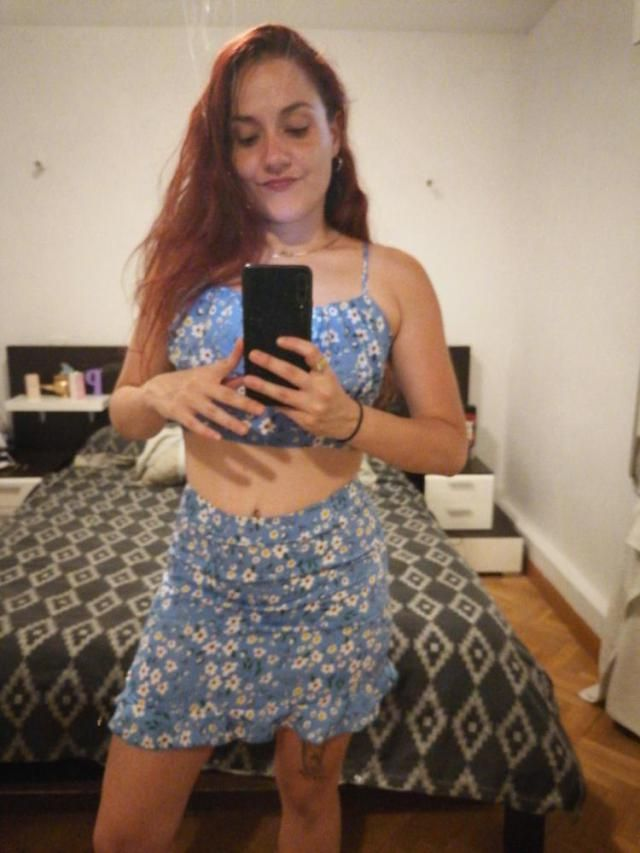 Looks exaclty like the pictures True to size and fits wellReally cute. I&;m. Posting the first review of this outfit. …