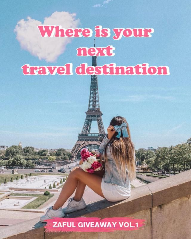 Hey, guys, if you had to name a couple of destinations as your favourites, which would they be?  Follow our Instagram …