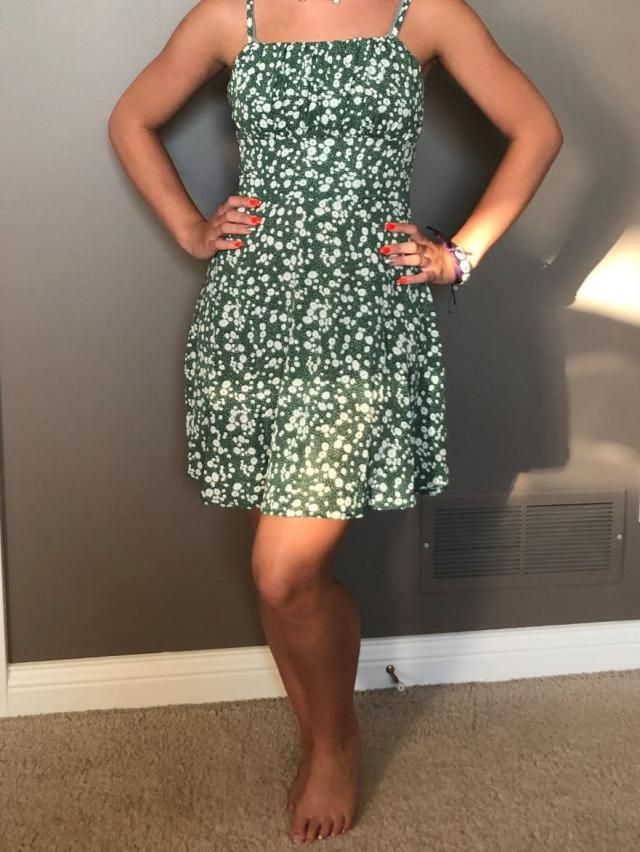 Love this dress, VERY flattering!   Definitely recommend and comfortable and of fantastic material!