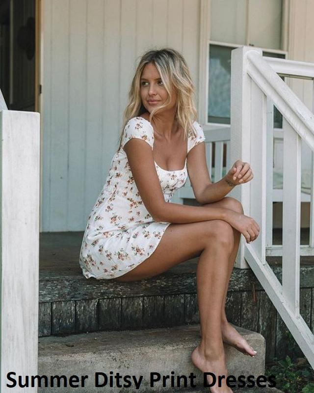 Summer Ditsy Print Dresses Cute summer mini dresses  from Zaful. It is time to enrich your wardrobe, a great selection…