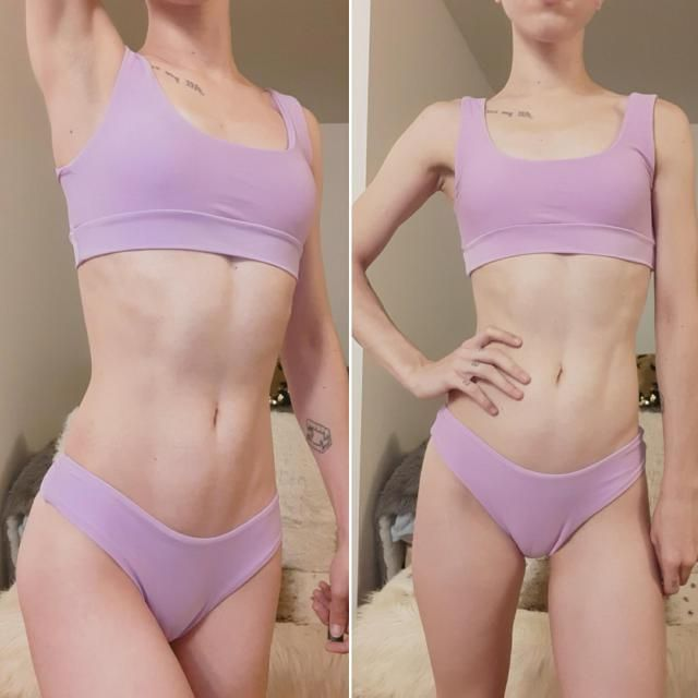 I love this bikini! I wish it had size XS as I ordered size small and it is about an inch or two too big for me. the b…