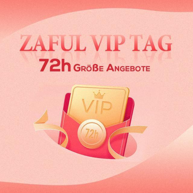 ZAFUL AUGUST VIP TAG 72H Sonderangebote starten! >> 12VIP<< Rabatt Code!