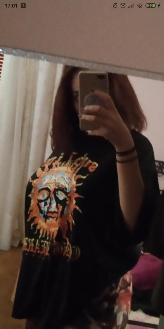 Ordered oversized and got it, pretty epic tee.