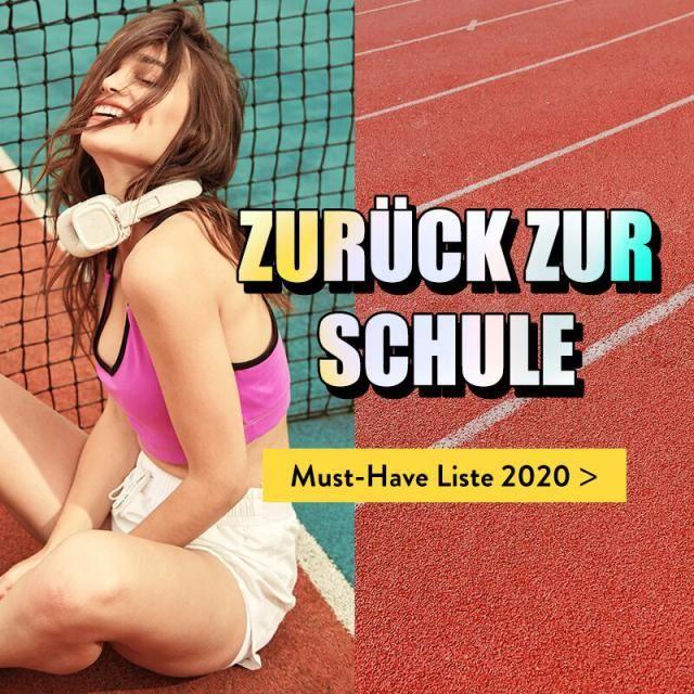 ZURÜCK ZUR SCHULE 2020 Neues Schuljahr Neue Look Checken Sie die Must-have Liste 2020 ab jetzt!