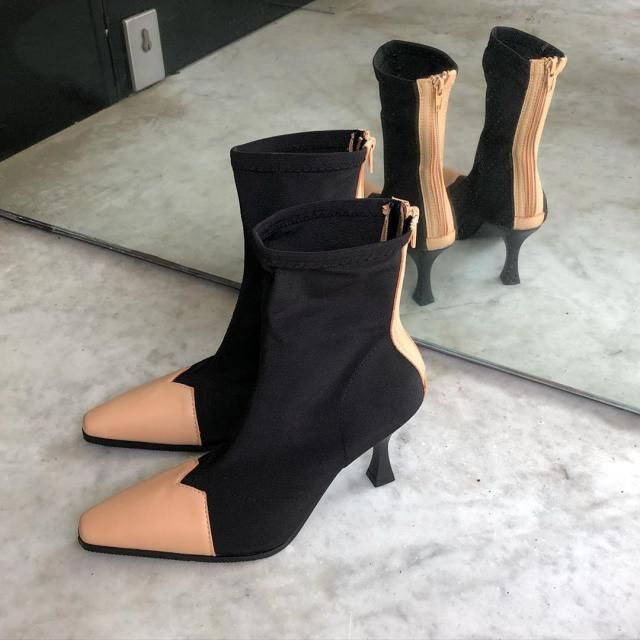 OMG! im loving this beautiful boots! are so aesthetic and mnimalist style! Get it here in zaful!♥