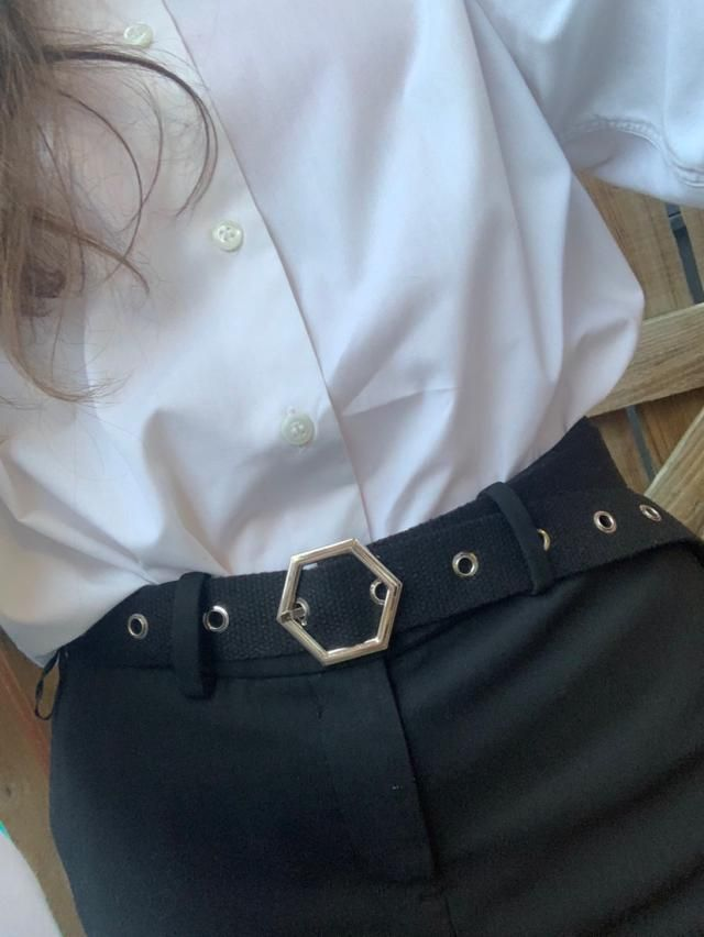 The belt is obviously small but that's what I expected and i love it. The buckle is very cute and it looks exaclty lik…