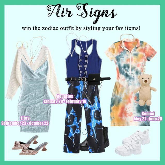 【 WIN Zodiac Outfit For FREE!】 HOW: 1. Pick a sign here: Aquarius丨Gemini丨Libra丨Taurus丨Virgo丨Capricorn 2. Create an autu…