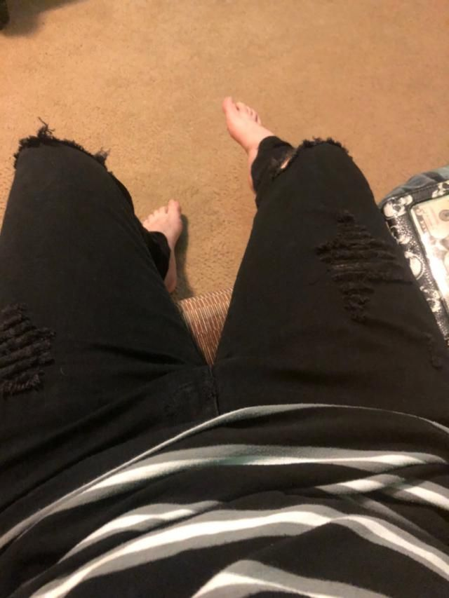 Love these jeans. They are a bit tight but that's okay I can deal with it  Looks exaclty like the pictures The fabric …