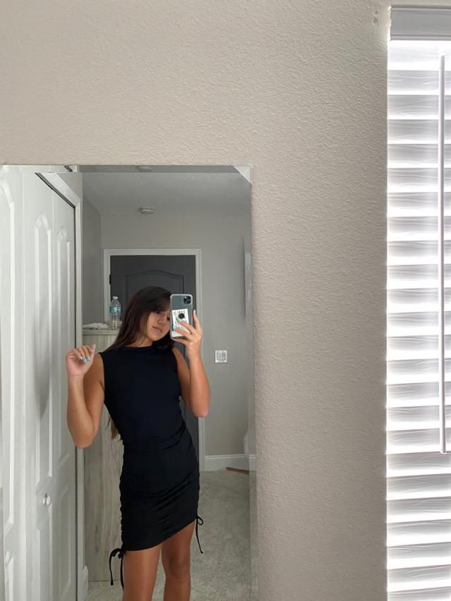 I love this dress. 10/10 True to size and fits well