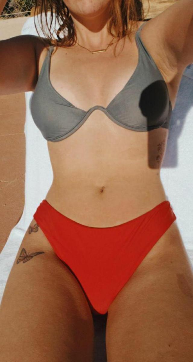 Love this bikini. Can't wait to wear!  Unique design