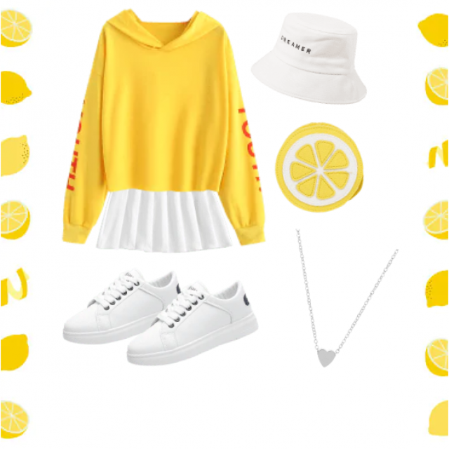 Kind of adore this outfit 🍋💛 //