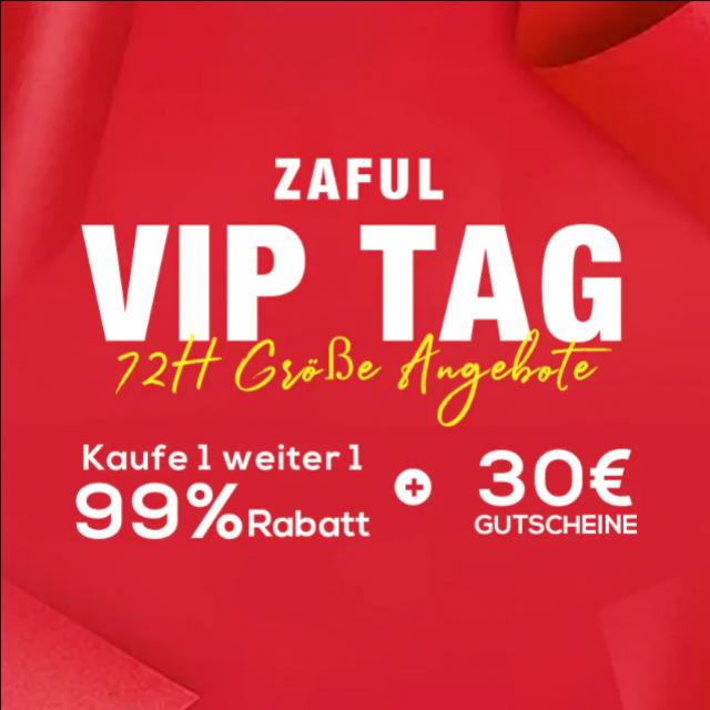 ZAFUL VIP TAG RABATT CODE: 12VIP